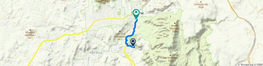 780 Chapel Rd, Sedona to 336 SR-179 S, Sedona
