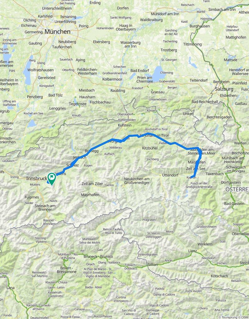 Majówka - Narciarsko, Rowerowo  Tyrol Austria