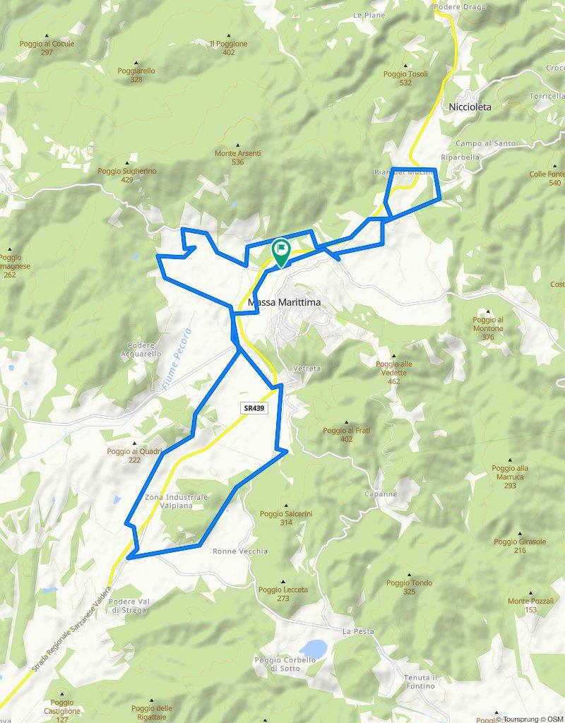 3 - MTB - Bike Family - Nero - Podere Gairlinga - Pian dei Mucini - Valpiana