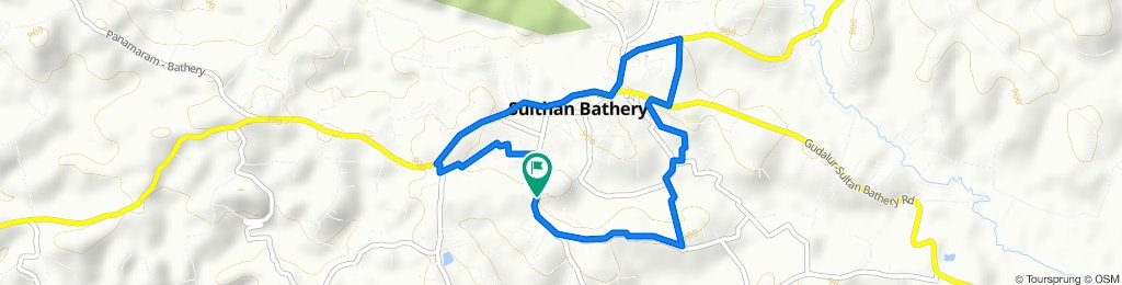 Relaxed route in Sultan Bathery
