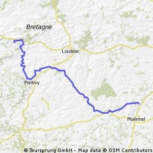 Stage 2 - Loyat to Caurel