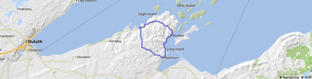 Washburn-Cornicopa-Bayfield Loop