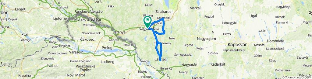 Giro Népszerűsítő túra - Fánkfesztivál