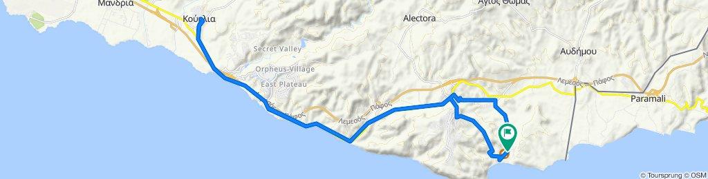 e-asyGo.com Tour 21 Pissouri Bay - Coastal E-Bike Excursion West