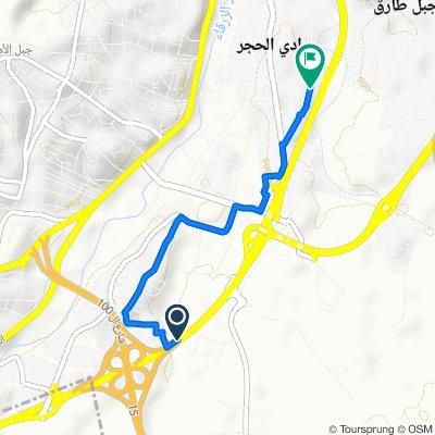 King Abdullah Ii Bin Al Husein Street, Amman to Al Haj Sabri Mosa'ad Street, Amman