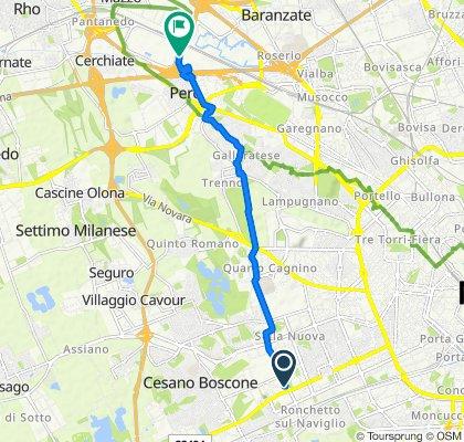 Percorso moderato in Milano