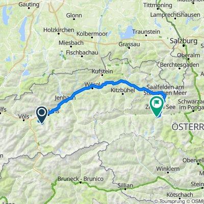 Majówka rowerowa narciarsko Tyrol I Kaprun