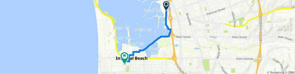 Steady ride in Imperial Beach