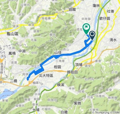 Slow ride in Shulin District
