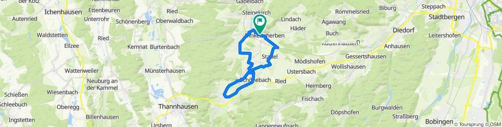 MTB Rund um Oberschöneberg