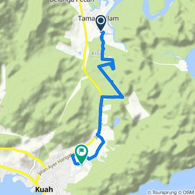 Slow ride in Kuah
