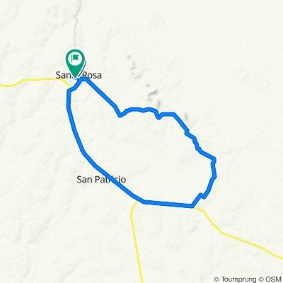 Paseo rápido en Santa Rosa