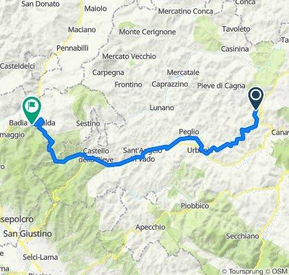 2 - Urbino-Badia Tedalda- 62 Km