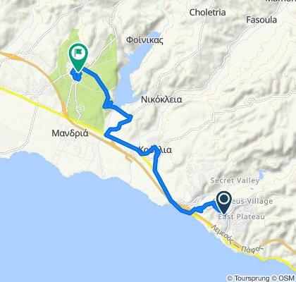 e-asyGo.com Tour 31 Aphrodite Hills - Coastal E-Bike Excursion West