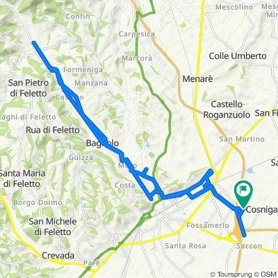 Giro San Vendemiano - Corbanese