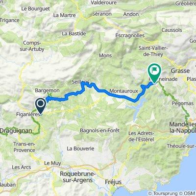 16 March 43 km Callas - Le Tignet_Villa Cardabella