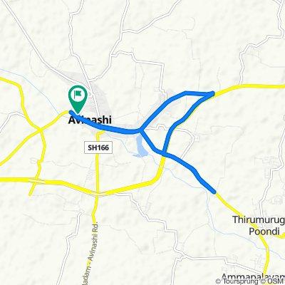 my home to annaipudhur to home 🚴