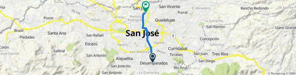Ruta supersónica en Costa Rica