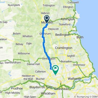 Easy ride in United Kingdom