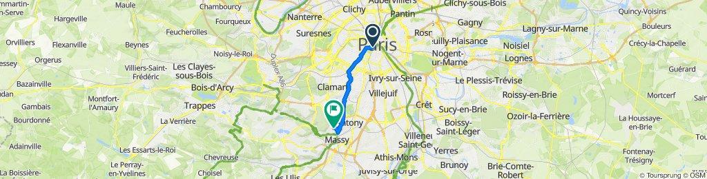 Route stable en Verrières-le-Buisson