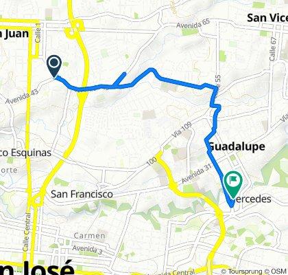 Paseo rápido en Guadalupe