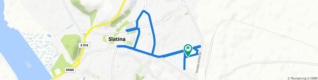 Traseu Slatina City Run 2020