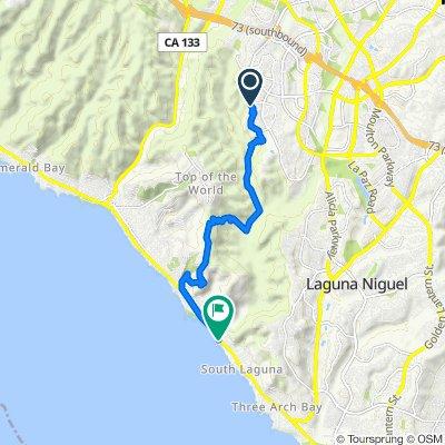 3 Remington Ln, Aliso Viejo to 7 Camel Point Dr, Laguna Beach
