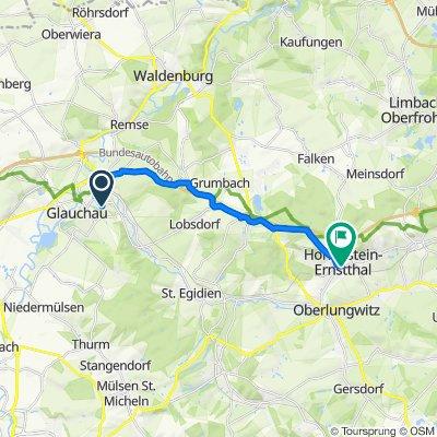 BA-GL2 14 km über B180 Hohenst-Ernstt
