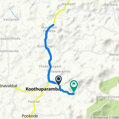 , Koothuparamba to , Koothuparamba