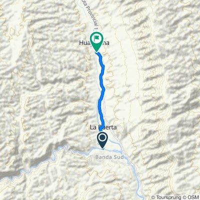 Ruta Provincial 215, Ambato to , Ambato