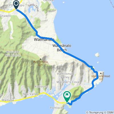 Castle to Hanauma Bay TT 2020 Sun March 22, 2020 Kailua, HI