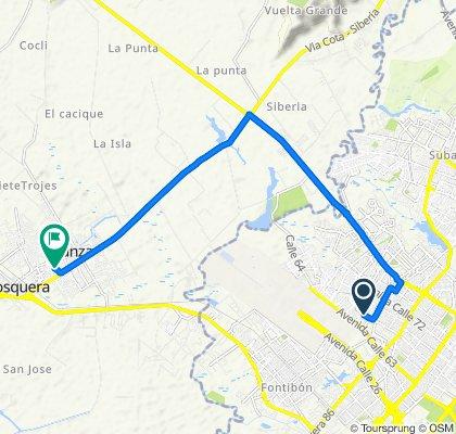 Paseo intenso en Colombia