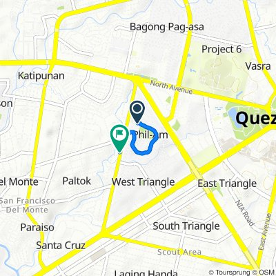 Easy ride in Quezon City