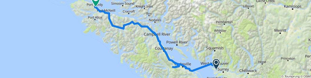 Crossing Canada part 1 - 2015