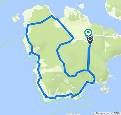Steady ride in Strömstad