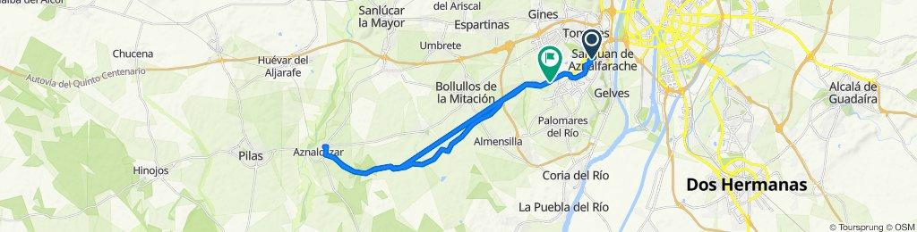 Ruta San Juan - Aznalcazar