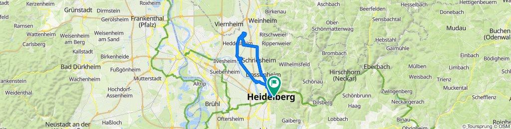 Eine Fahrt nach Ladenburg und Heddesheim