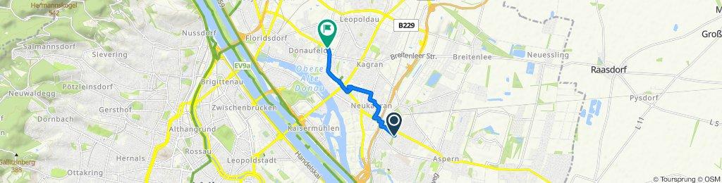 Moderate Route in Wien