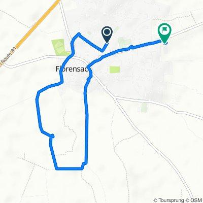Route stable en Florensac