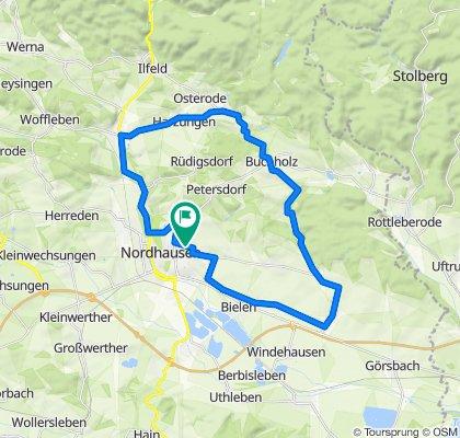 Sportliche Route in Nordhausen