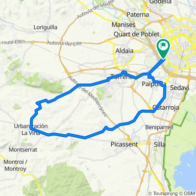 Valencia - Picanya - Monte Rosado 19-02-2020