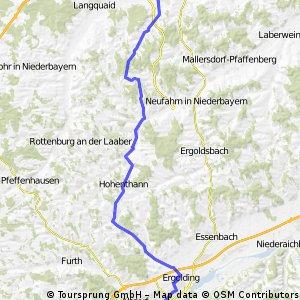Landshut-Hohentann-Schierling-Eggmühl