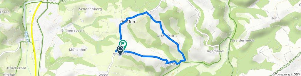 Wanderung Aiselsfeld