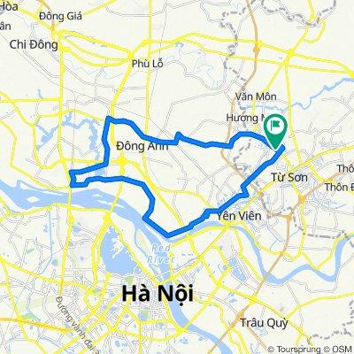 Relaxed route in Thị xã Từ Sơn