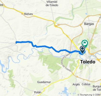 Avenida de Portugal, Toledo to Calle Reino Unido, 8I, Toledo