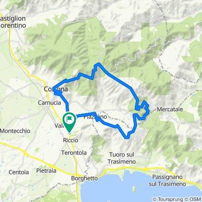 Cortona-Farneto-Pierle-MonteGinezzo-Portole