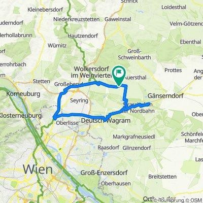 Dampfross Drahtesel Weg