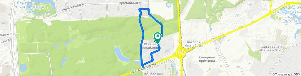 Быстрая зимняя сухая февральская велоподработочка + заезд в аптеку 16 02 2020