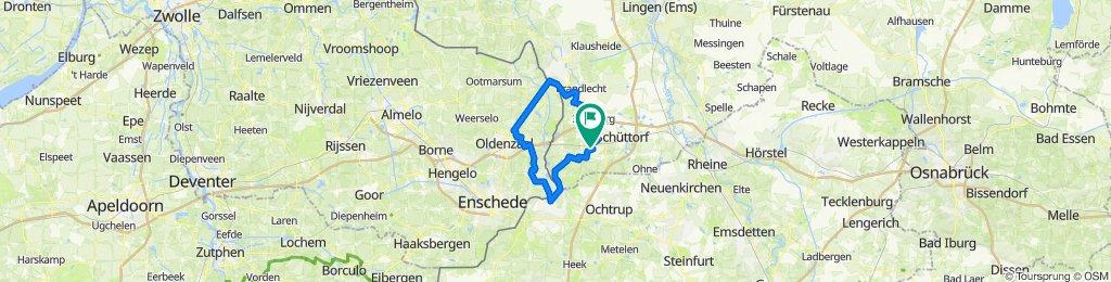 Bad Bentheim - Denekamp - Losser