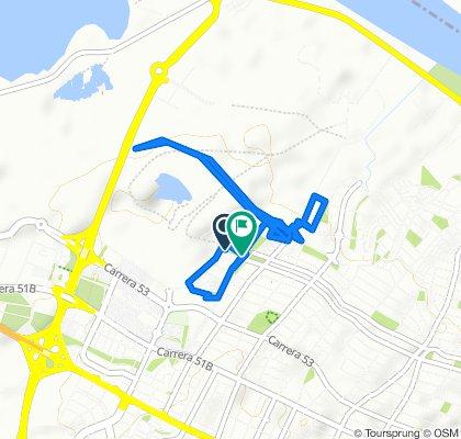Paseo rápido en Barranquilla